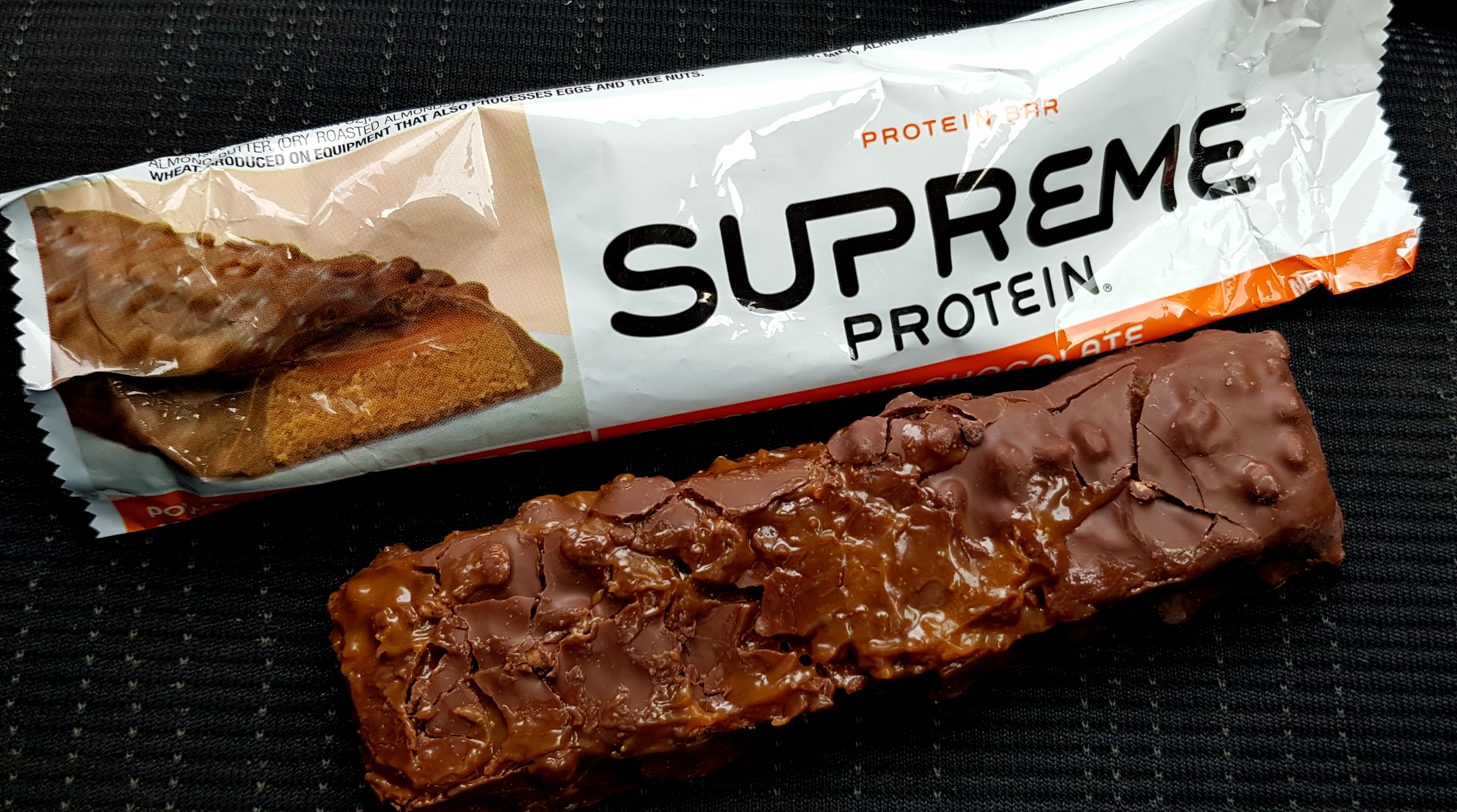 Supreme Protein Caramel Nut Chocolate review