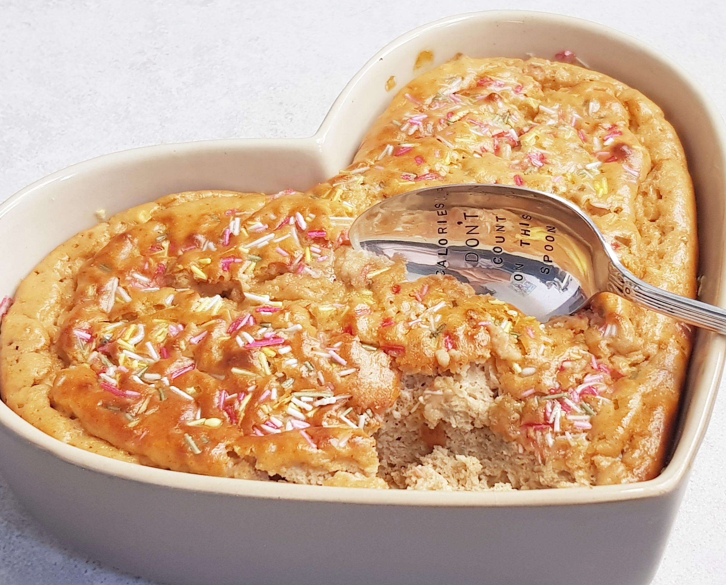 pieczony omlet białkowy