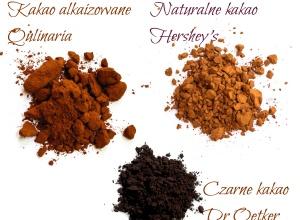 Dlaczego czarne kakao jest czarne i czy jest lepsze od brązowego?