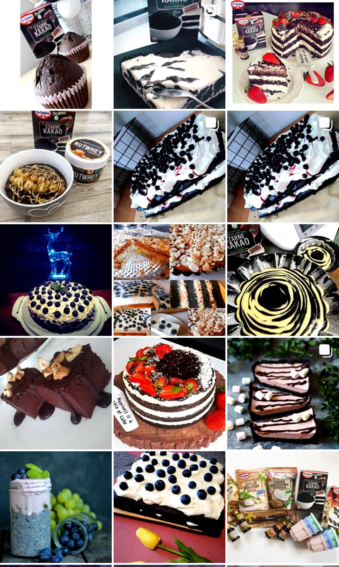 Czarne kakao - zdjęcia z instagrama