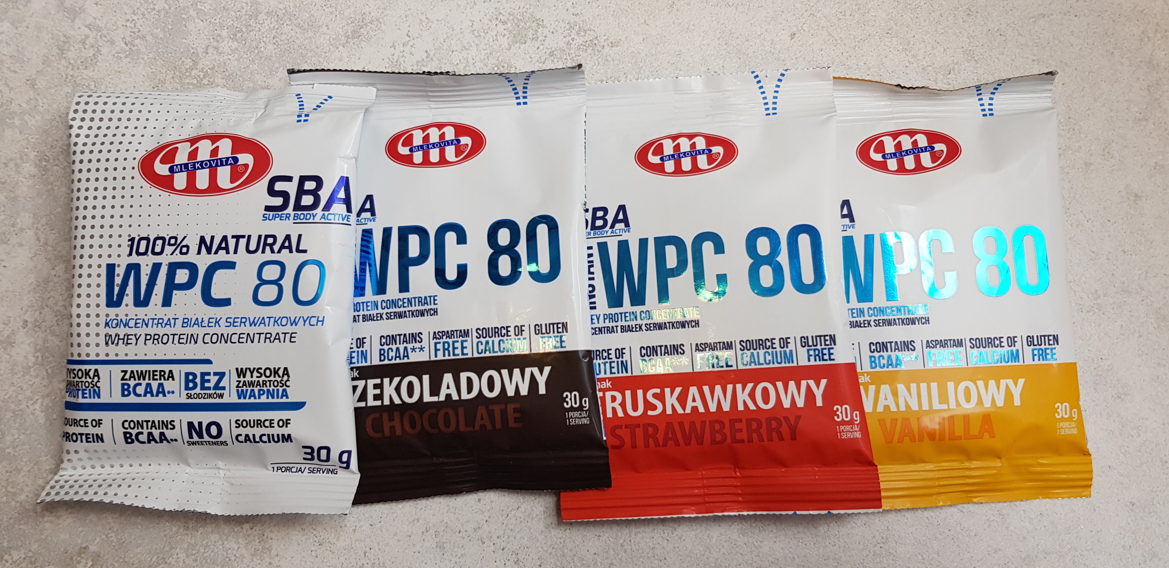Mlekovita WPC 80 wszystkie smaki