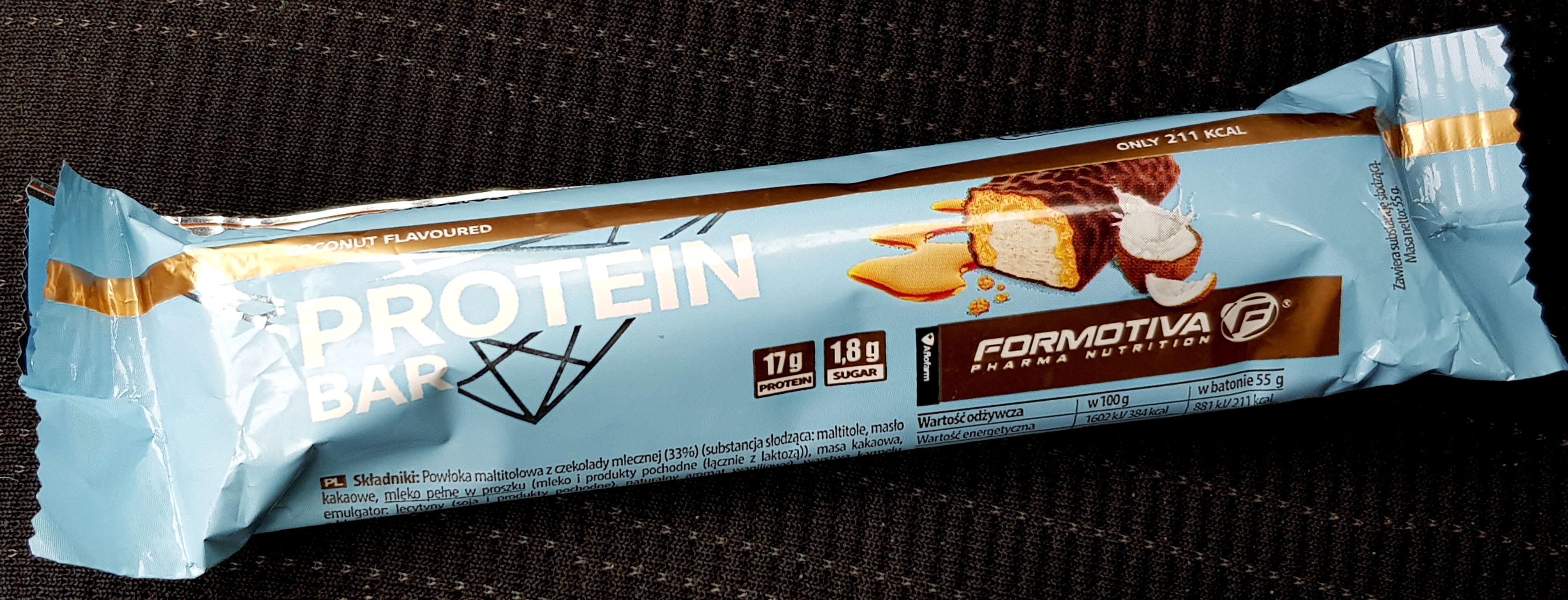 Formotiva Coconut baton proteinowy recenzja