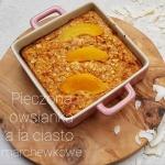 Pieczona owsianka proteinowa a la ciasto marchewkowe
