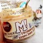 Krem proteinowy bez cukru a la Białe Michałki – 5 razy mniej kcal niż NutLove :)