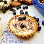 Mini serniczki proteinowe a la HIT Dzika Borówka 16g białka & 148kcal w sztuce!