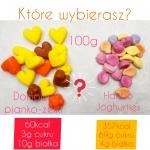 Proteinowe żelki – pianki bez cukru 6 razy mniej kcal niż Haribo!