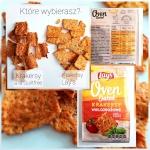 Proteinowe fit krakersy bez tłuszczu a la Lay's Oven Baked – 220kcal, 21g białka