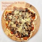 Najlepsza Fit Pizza proteinowa low carb EVER – 392kcal, 51g białka!