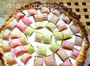 Dietetyczna krucha tarta z rabarbarem, 146kcal w kawałku