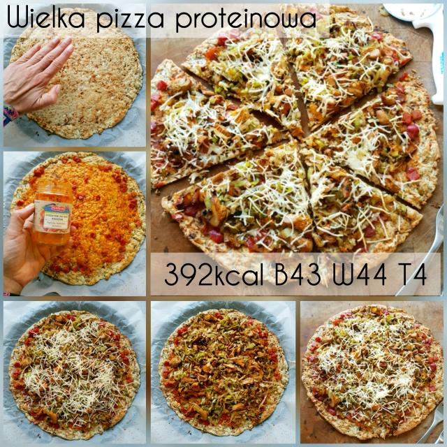 Najlepsza pizza proteinowa low carb – bez kalafiora!