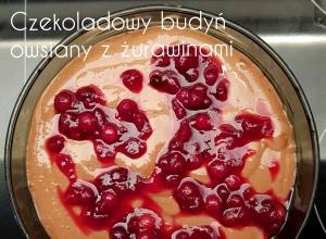 Proteinowy czekoladowy budyń owsiany – 28g białka & 230kcal w 700ml deseru!