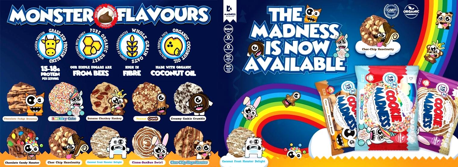 Ciastka białkowe Madness Cookie