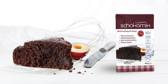Ciasto czekoladowe sukrin