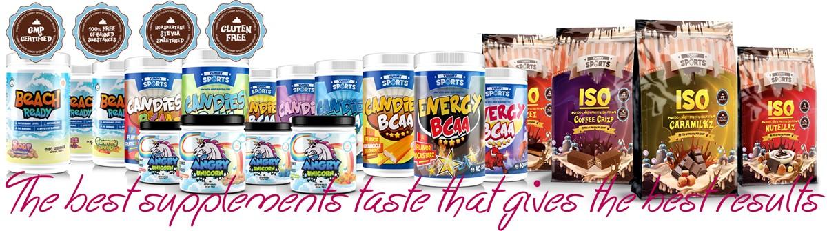 Yummy Sports odżywki białkowe tylko ze stewią