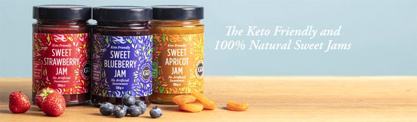 Good Good keto fruit spreads
