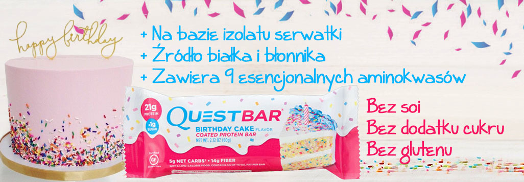 Quest Birthday Cake Polska