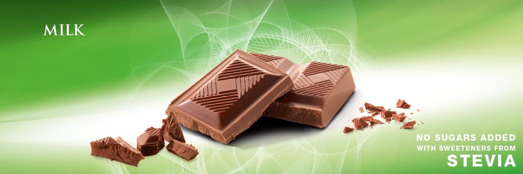 Mleczna czekolada ze stewią Cavalier