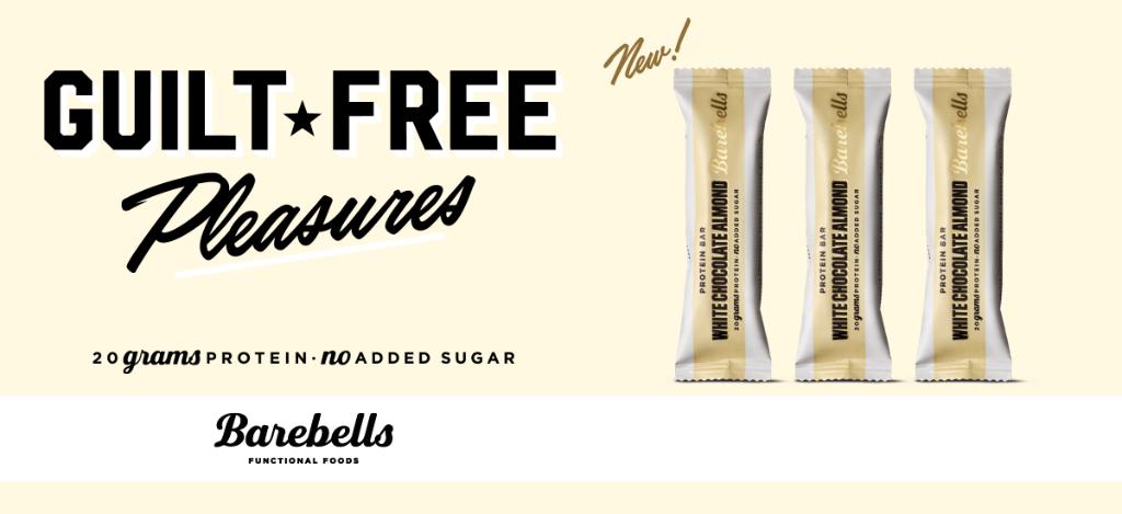 Baton białkowy Barebells White Chocolate Almond
