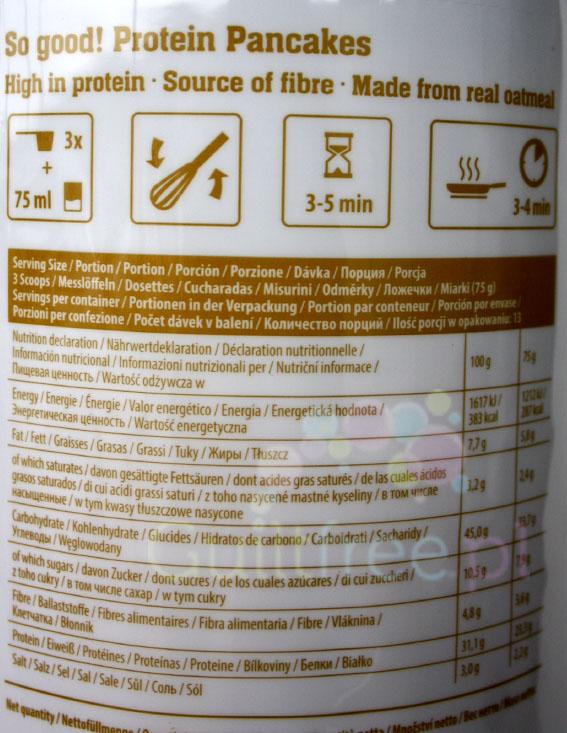FA So Good! Pancakes z serkiem wiejskim i bananami - wartości odżywcze i sposób przygotowania