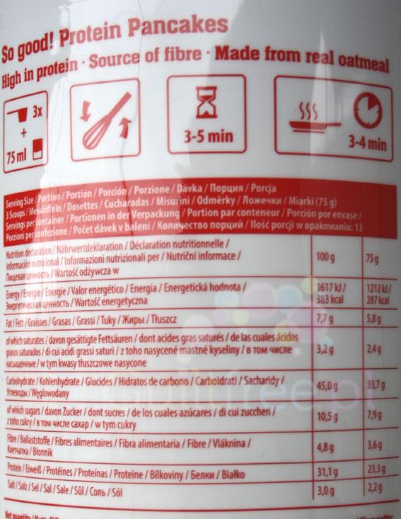 FA So Good! Pancakes Strawberry - wartości odżywcze i sposób przygotowania