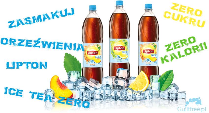 Lipton Ice Tea Zero mrożna herbata bez cukru zero kalorii