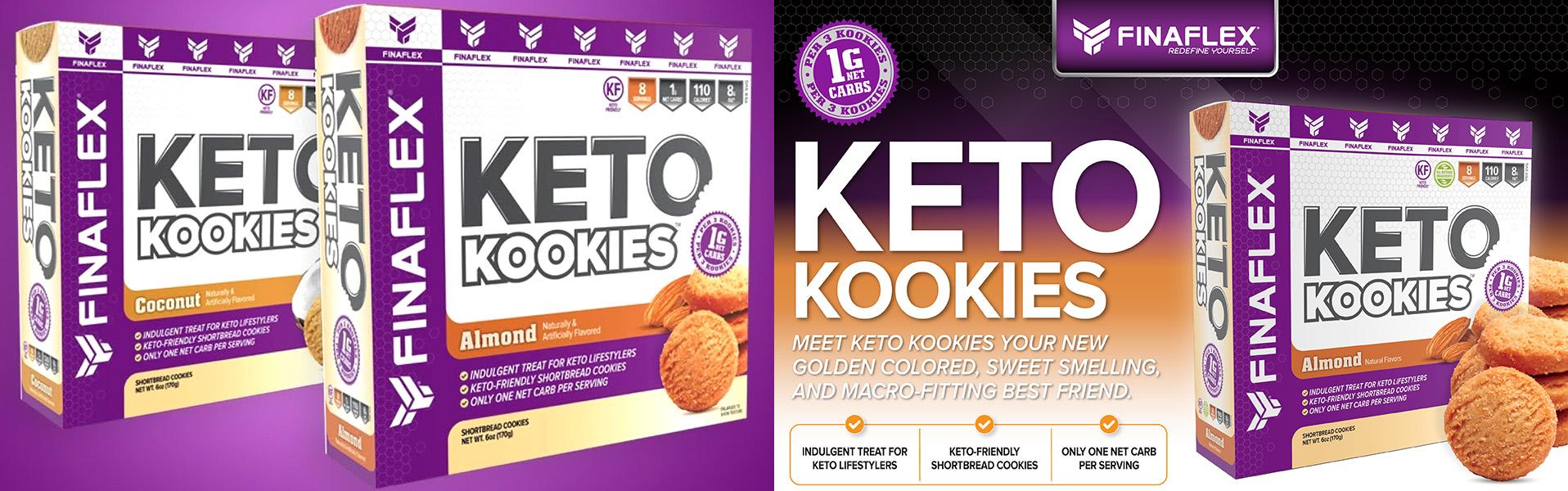 Finaflex Keto Kookies Cookies
