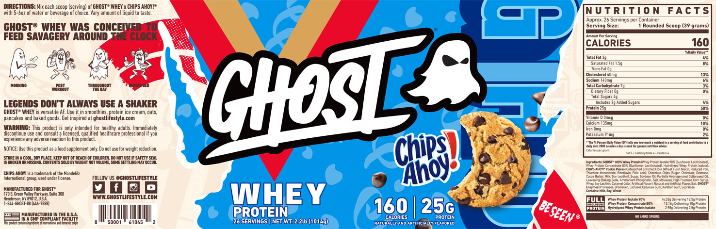 Ghost Protein Chips Ahoy