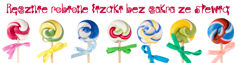 Kraina Słodkości Stewiarnia - Lizaki bez cukru ze stewią banner
