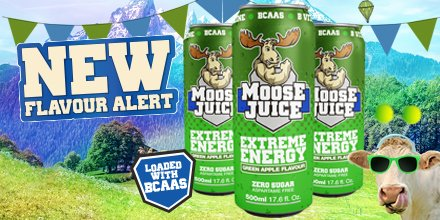 Muscle Moose Juice Green Apple