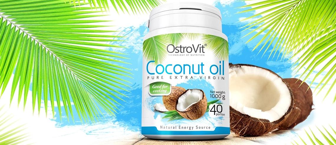 Olej kokosowy Ostrovit 0,9kg