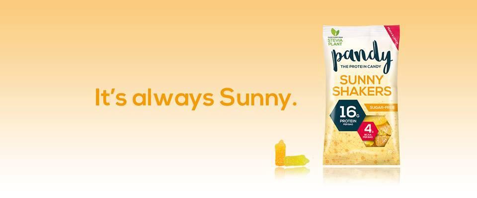 Żelki proteinowe Pandy Protein Sunny Shakers