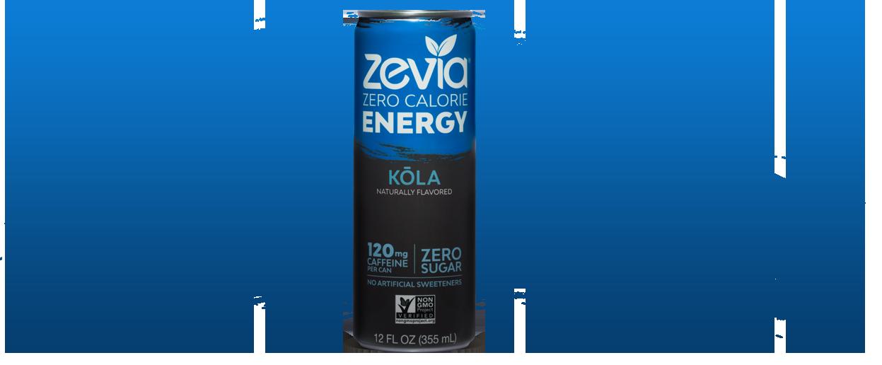 Zevia Energy Kola with stevia