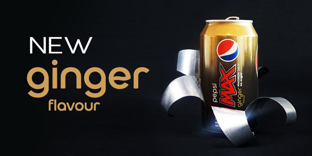 Imbirowa Pepsi Max bez kalorii