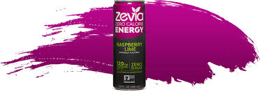 Zevia Energy Raspberry & Lime with stevia