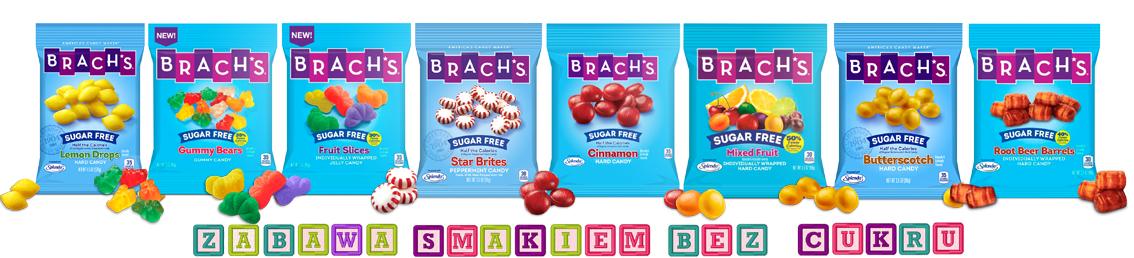 Brach's niskokaloryczne słodycze bez cukru i tłuszczu w Guiltfree.pl