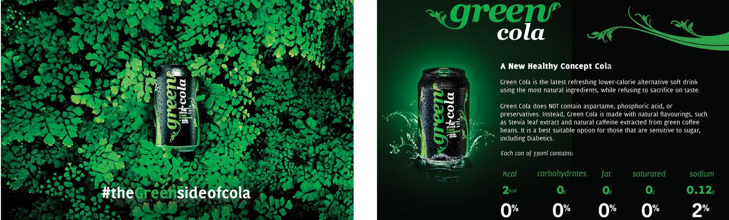 Green Cola Polska napój słodzony stewią