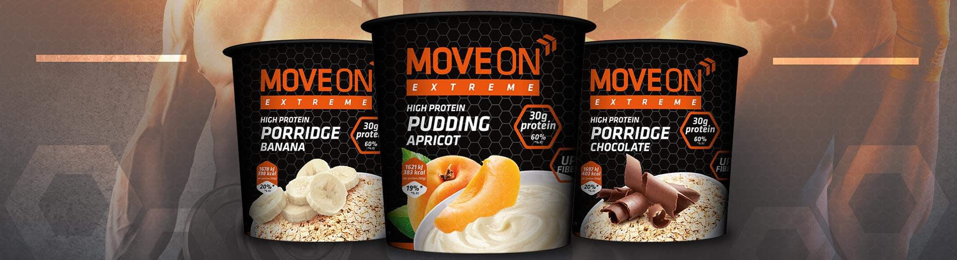Puddingi białkowe Moveon Kupiec