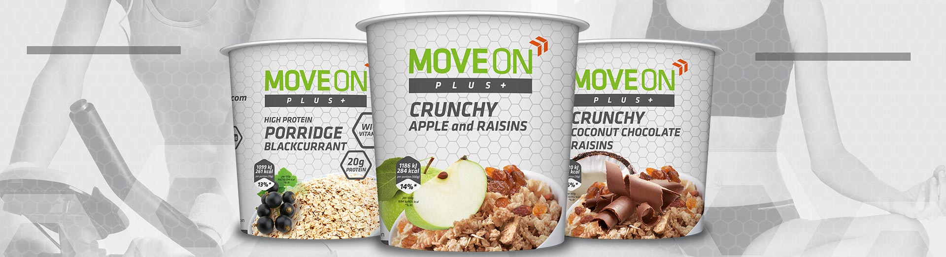 Owsianki proteinowe Moveon Kupiec