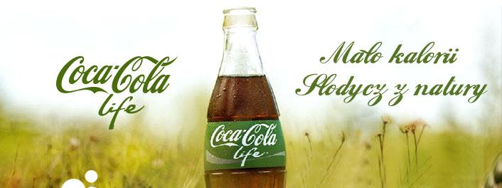 Coca Cola Life butelka