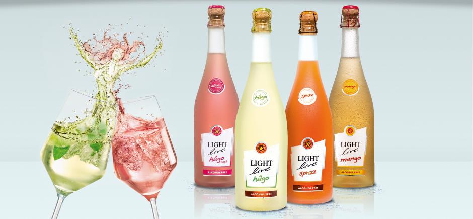 Light Live niskokaloryczne wina bezalkoholowe