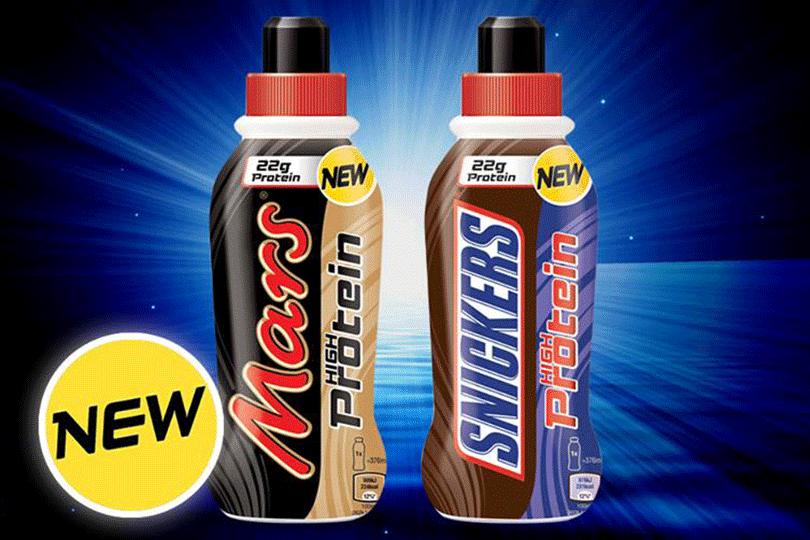 Mars Snickers protein milks