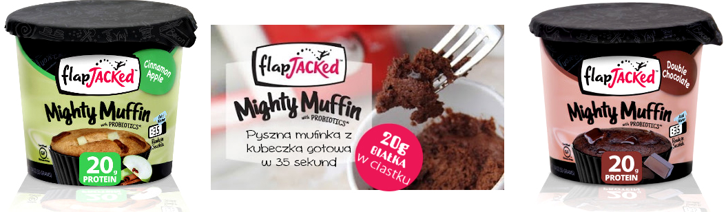 Mighty Muffin proteinowy banner guiltfree.pl