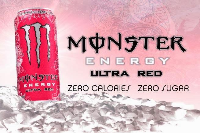 Monster Energy Ultra Red bez cukru