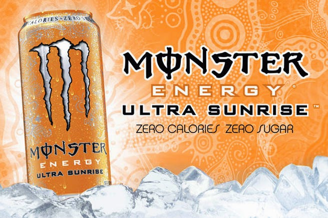 Monster Ultra Energy Sunrise bez cukru Polska