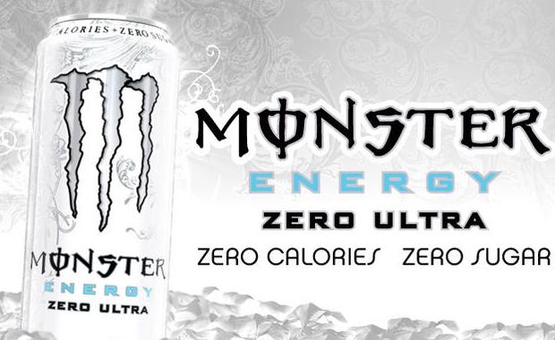 Monster Energy Ultra White Zero bez cukru zero kalorii Polska