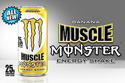 Proteinowy Monster Energy Muscle Banana Shake Polska