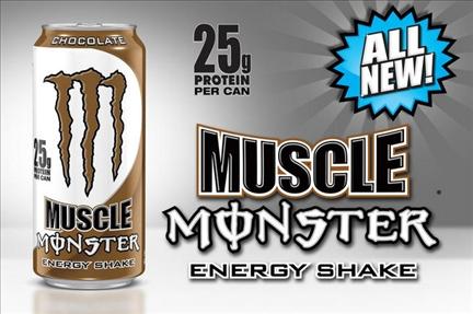 Proteinowy Monster Energy Muscle Chocolate Shake najlepsza cena