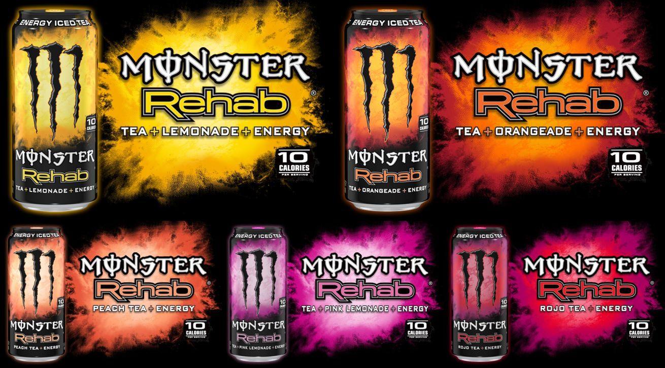Monster Rehab różne smaki kup w Guiltfree.pl