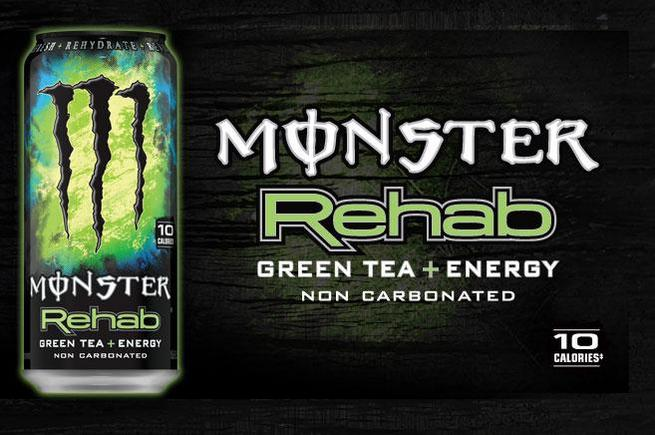 Monster Rehab Green Tea kup w Guiltfree.pl
