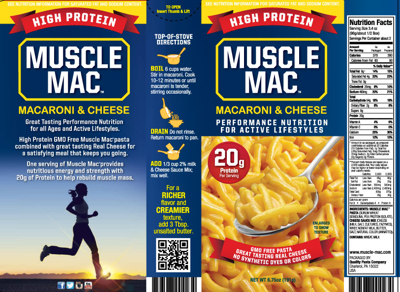 Muscle Mac label